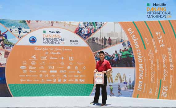 Taiwanese runners came to Danang for the big marathon in South East Asia