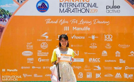 Á Quân Shonan International Marathon tham dự Manulife Danang International Marathon 2019
