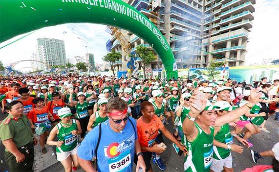 9000 vận động viên đến Đà Nẵng để chạy marathon