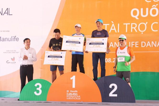 VĐV Việt Nam vô địch giải marathon Quốc tế Đà Nẵng 2019