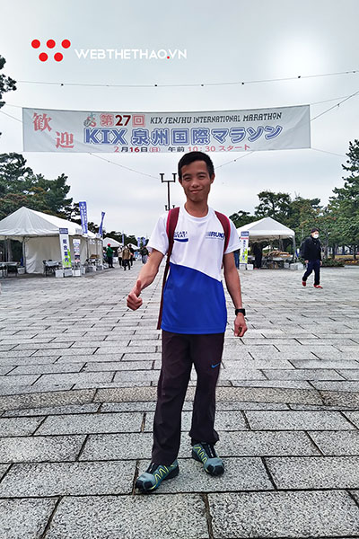 """""""Nhà vô địch giày thủng"""" của Manulife Danang International Marathon 2019 vinh danh trên đấu trường quốc tế Nhật Bản"""