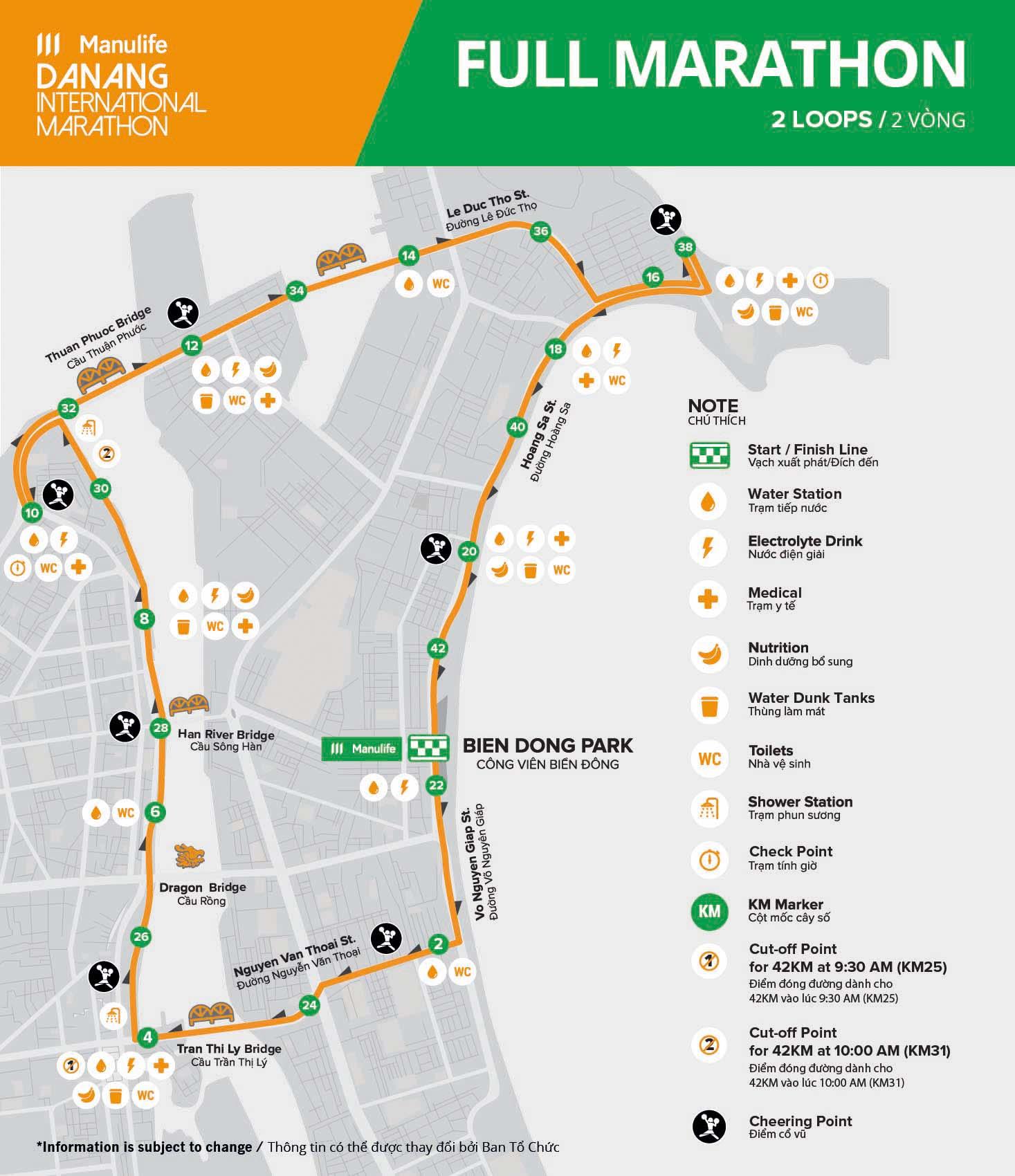 MDNIM20 - Course - Full Marathon