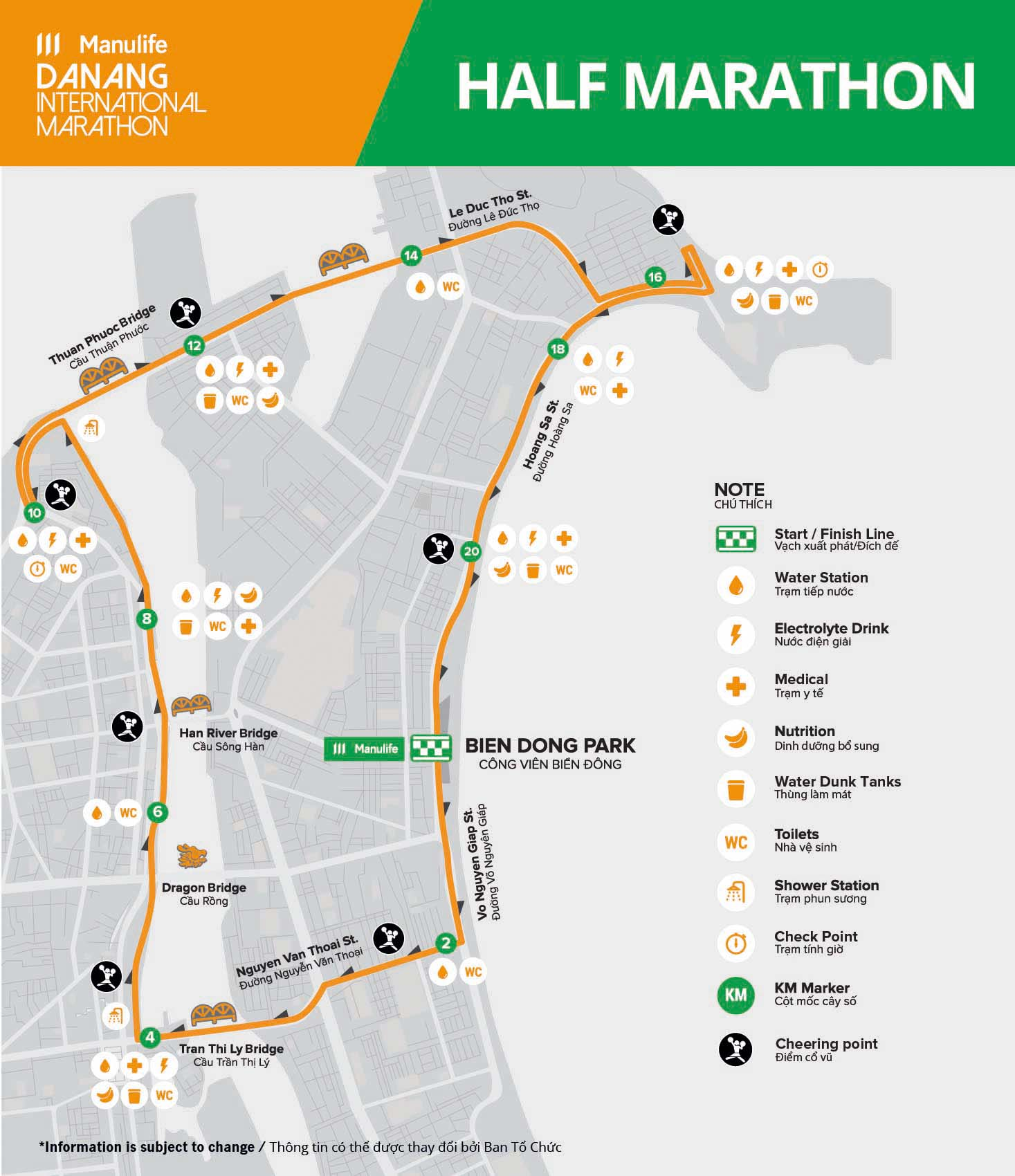 MDNIM20 - Course - Half Marathon