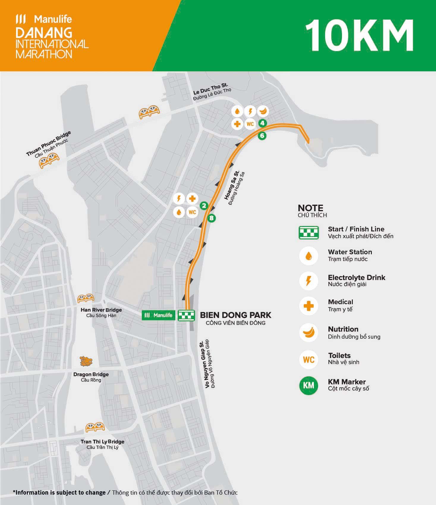 MDNIM20 - Course - 10km