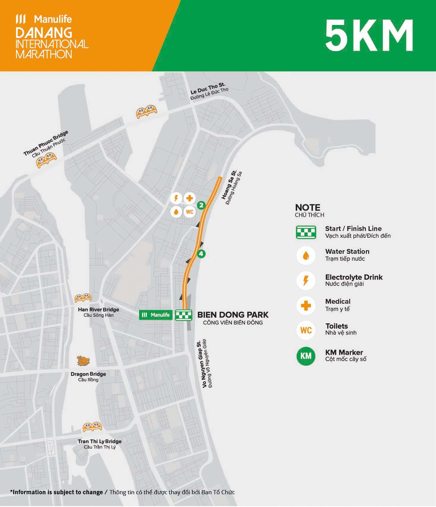 MDNIM20 - Course - 5km